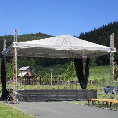 Pódiové a střešní systémy